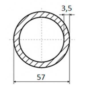 труба электросварная 57х3.5